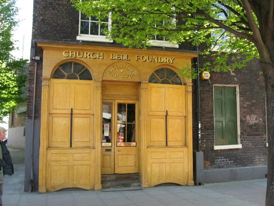 Whitechapel Bell Foundry: Entrance to foundry