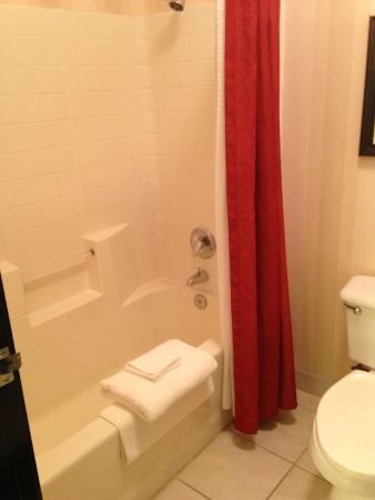 DoubleTree by Hilton Hotel Portland - Beaverton: Shower/Bath