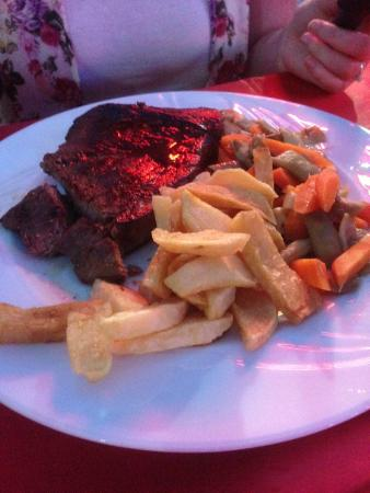 Steak picture of andy 39 s restaurant bar marmaris for Andy s chinese cuisine