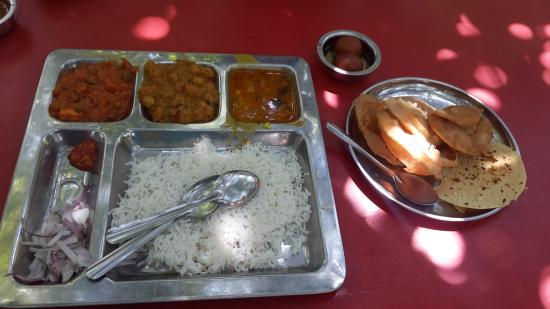 Thane, Hindistan: Thali Lunch