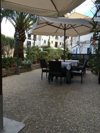 Cafe of the Hotel La Ventana