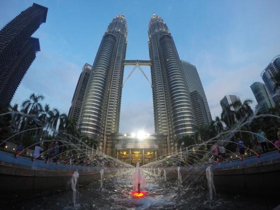 De Petronas Twin Towers