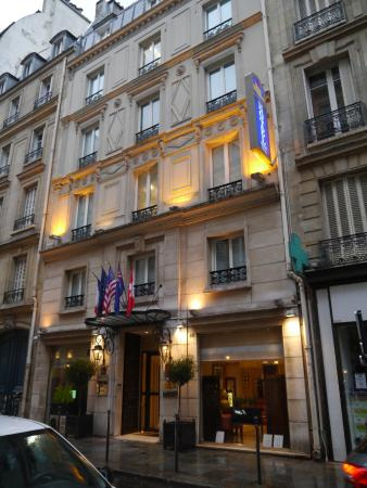 Hotel front picture of best western plus hotel sydney for Top hotel france