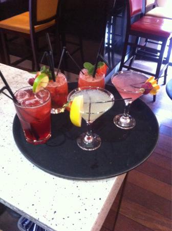 Wilsons Bar at the Wynnstay Hotel & Spa: Summer cocktails