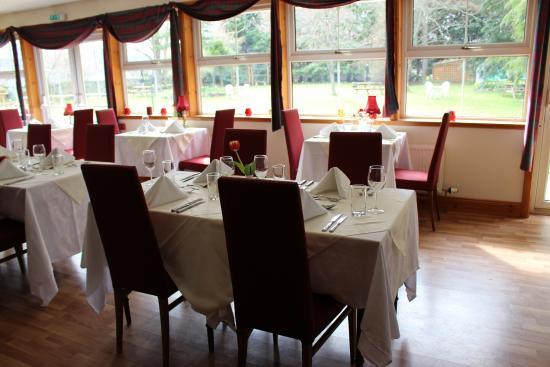 Columba House Hotel Garden Restaurant Kingussie