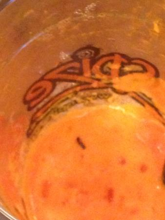 "Spize River Valley: Moth ""dead in the water"" in my juice at Spize"