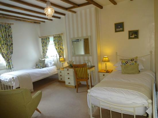 The Old Rectory of St James: William Room - Twin ensuite
