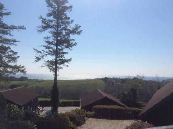 Trewince Holiday Lodges : View from lodge