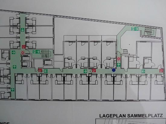 Pestana Berlin Tiergarten: Etagenplan