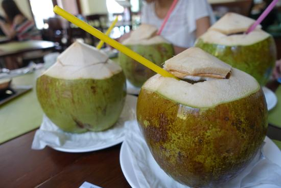 P.S. Hotel : fresh coconut