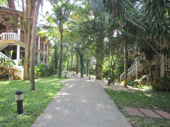 Thai Ayodhya Villas & Spa: Gartenansicht
