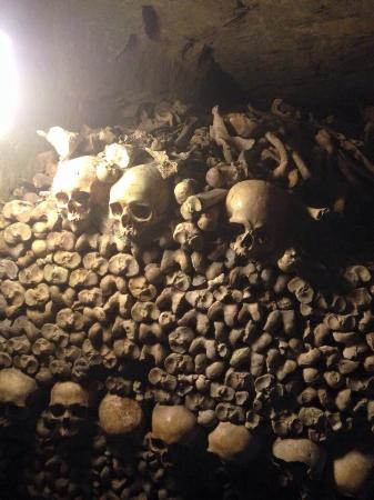 ‪The Paris Catacombs‬