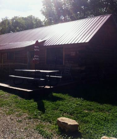 Dolores River Campground and Cabins: Leola Hyde Cabin