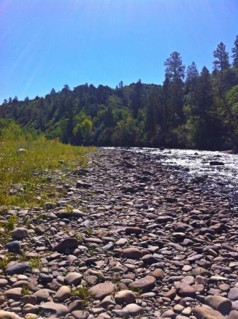 Dolores River Campground and Cabins: Dolores River