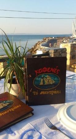 Kafenes to Mantraki