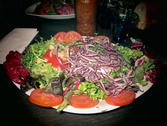 Salade Du Pecheur Picture Of Le Jardin De Berthe Lyon Tripadvisor