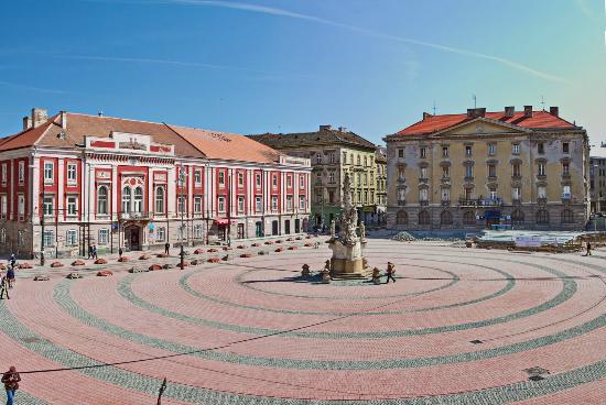 Libertatii Square: Pta Libertatii neu