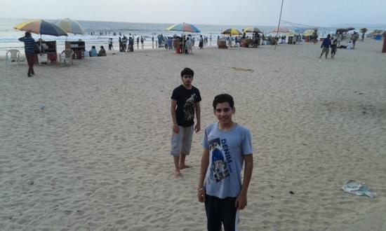 Ganapatipule Beach : Clean Sea Beach