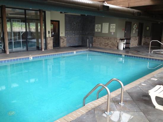 Comfort Inn & Suites: Indoor pool