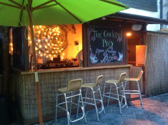 Vertigo Bar: The cocktail pod