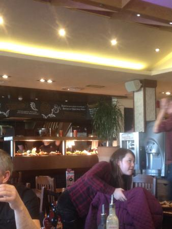 Nando's - Southport: Shocking Service food stacking up and going dry  Bad management ��