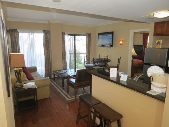 The Enclave Hotel & Suites: GENERAL VIEW OF ROOM 1302