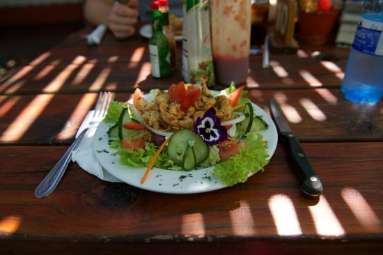 Cala la Pasta Italian Restaurant and Pizzeria: lekkere salade