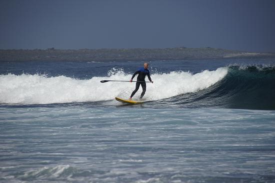 Weymouth, UK: Advanced paddleboarding