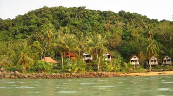 Koh Wai Pakarang Resort: vue de notre plage