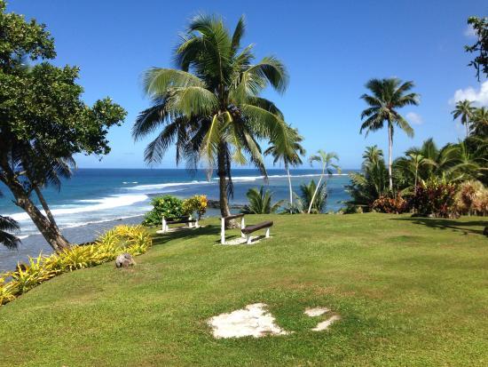 Lalomanu, Samoa: Coastline