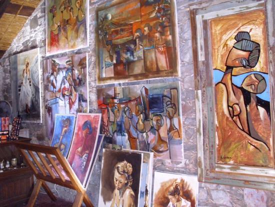 Galeria de los Suspiros: obras