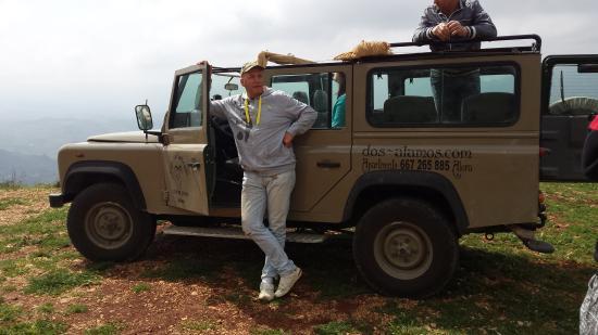 B&B Dos Álamos: jeepsafari van Adri een absolute aanrader.