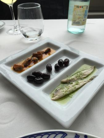 Restaurante Chuanet: Aperitivo
