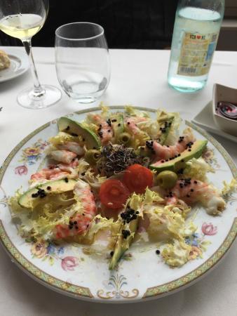 Restaurante Chuanet: Ensalada