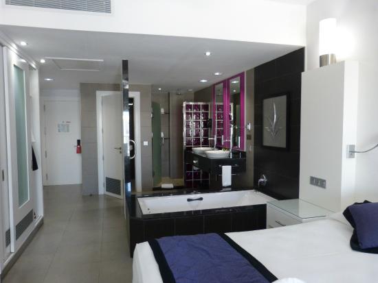 hotel riu palace jamaica la salle de bain ouverte - Salle De Bain Ouverte