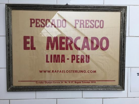 Photo of South American Restaurant El Mercado at Hipolito Unanue 203, Lima 15074, Peru