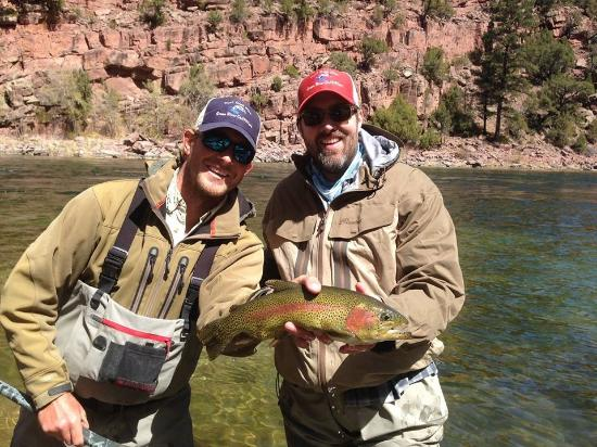 Trout Creek Flies and Green River Outfitters - Day Trips: Just one of many beauties caught today