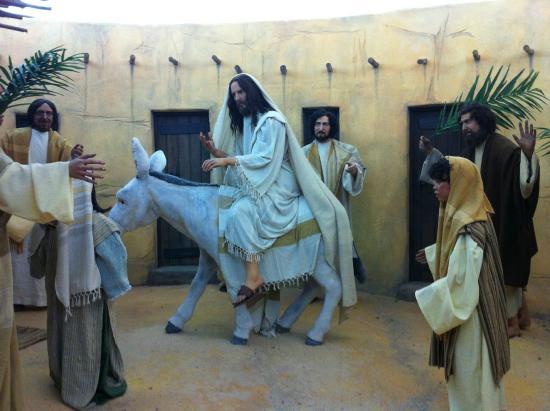 Museu de Cera : LLEGADA A JERUSALEM