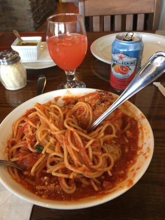 Nonna's Oven : Spaghetti meatballs