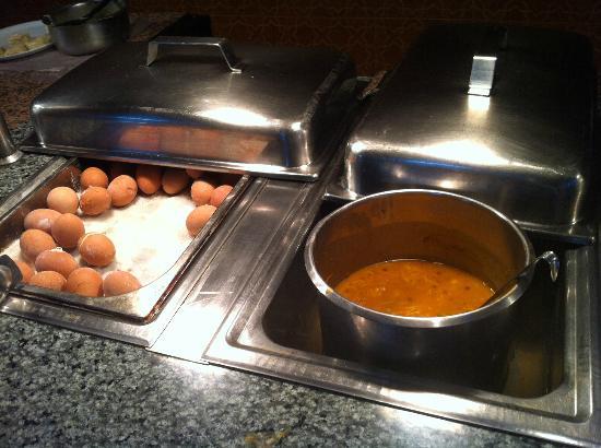 Les Omayades Hotel: Frühstück