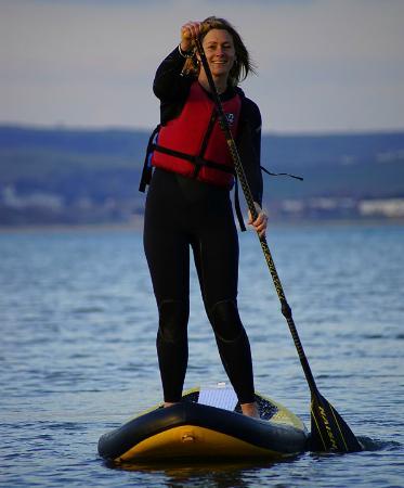 Weymouth, UK: Paddleboarding tranquility