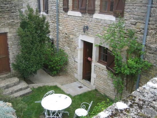 "Chez Bagatelle : ""Onze"" tuin en kamer."