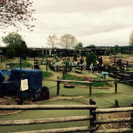 mini golf free picture of woodside animal farm and leisure park