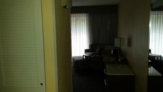 Courtyard Orlando East/UCF Area: View from door room 204