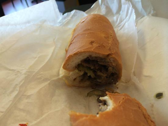 Concordville, PA: stuffed with 'steak