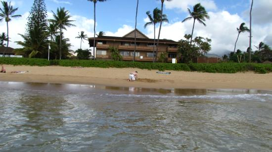 Kaanapali Ocean Inn: Amazing beach beyond the room!