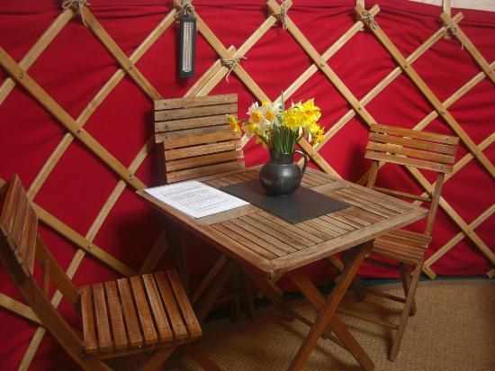 Ivy Grange Farm Yurt Holidays: Comfort