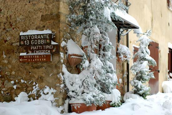 Ristorante 13 Gobbi: i 13 gobbi in inverno