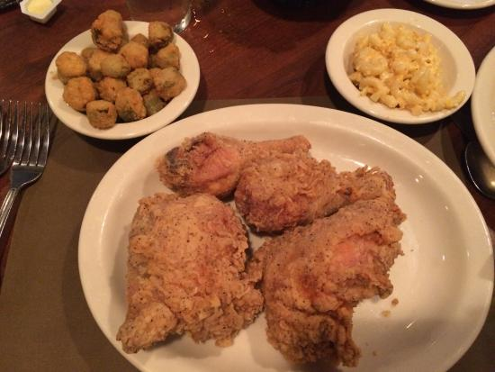 The Colonnade: Fried chicken awesomeness