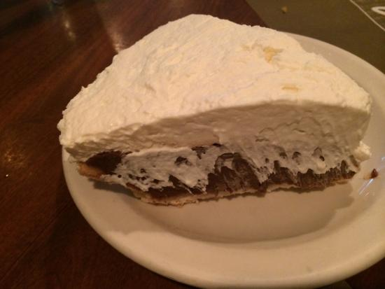 The Colonnade: Chocolate cream pie